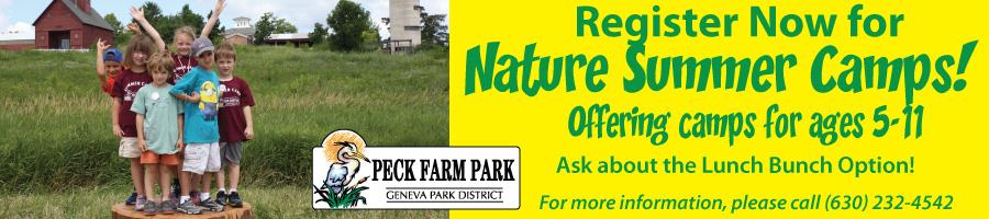 Peck Farm Summer Nature Camps