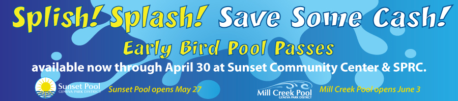 Early Bird Pool Passes