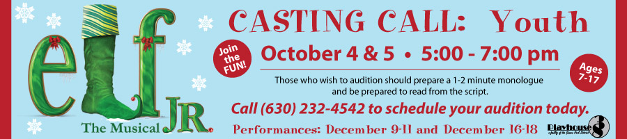 Elf Jr auditions