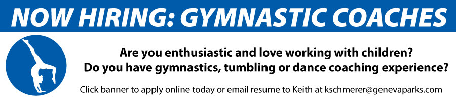 Now Hiring Gymnastics
