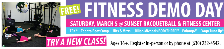 Spring Fitness Demo Day