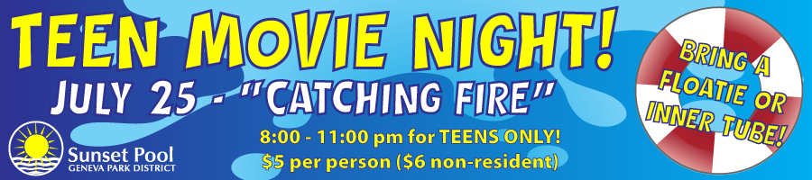 Teen Movie Night: Catching Fire