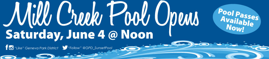 Mill Creek Pool Opening Day