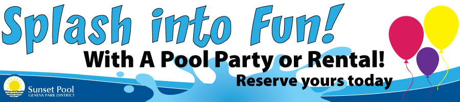 Pool Parties and Rentals