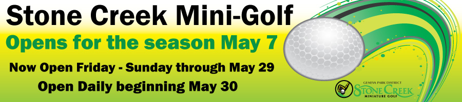 Mini Golf Now Open