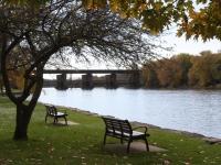 Island Park river