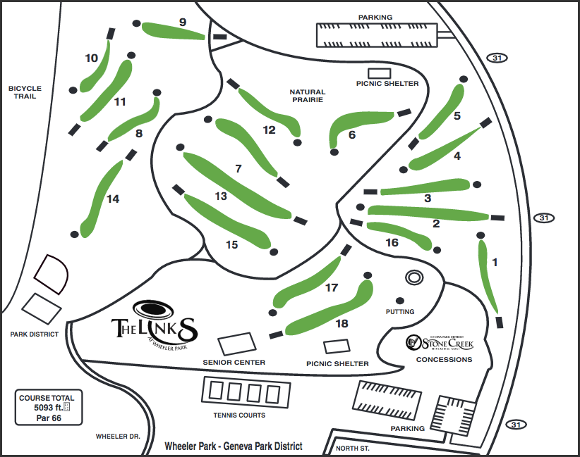 Links Disc Golf Course