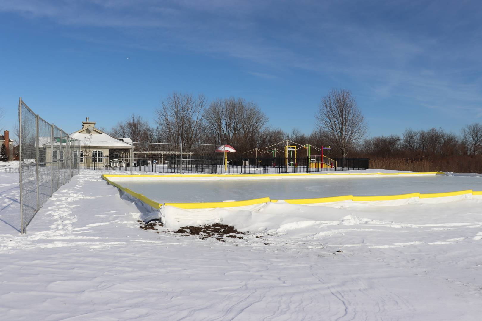 An Additional Outdoor Ice Skating Rink Will Be Available In The Gry Area Next To Mill Creek Pool 39w125 South Drive
